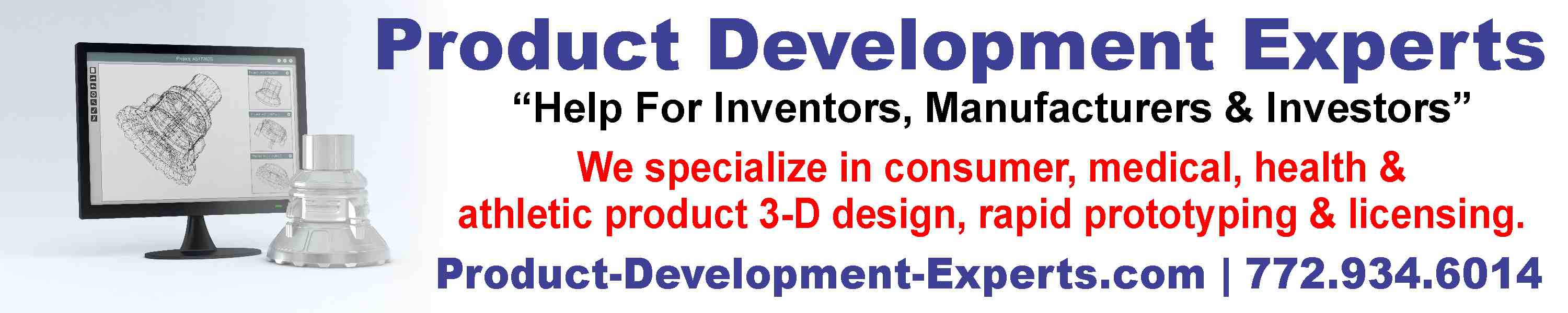 Product Development, Product Design, Prototypes and Invention Licensing