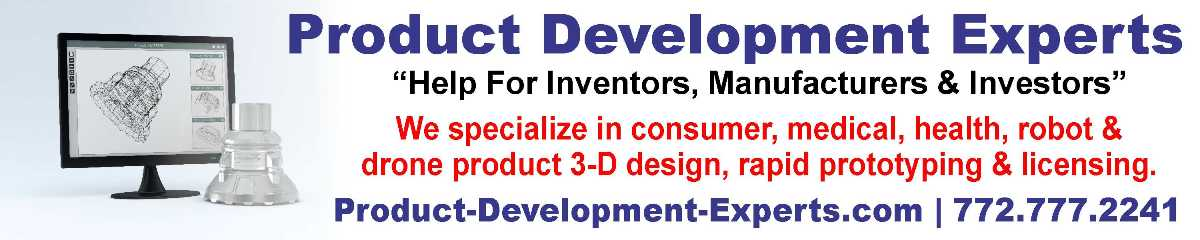 Product Development, Product Design, Prototypes and Invention Experts