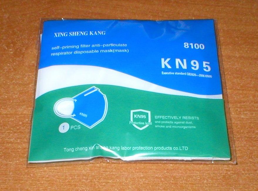 K-N95 Respirator Face Mask